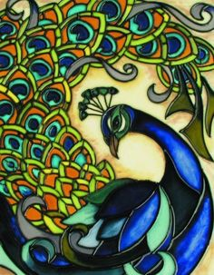 """Peacock - Decorative Ceramic Art Tile - 11""""x14"""" by entiles.com. Save 20 Off!. $51.99. WORLDWIDE EXCLUSIVE IMAGE FOR EN VOGUE-ART ON TILES. Hang on the wall with built-in hook and backing is removable to install as a standard tile or can be used as a hot plate. FREE HIGH QUALITY UNIQUE GIFT BOX. We make every effort to process your order within 24 hours. Hand crafted art tile, brilliantly colored, with complex glazes; unique textures and kiln fired at high temperature.. This c..."""