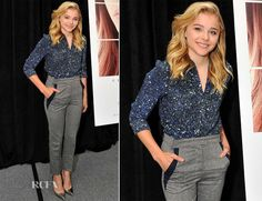 Chloe Grace Moretz In Jonathan Saunders – If I Stay' San Mateo Book Signing