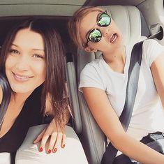 Gigi Hadid and Bella Hadid's Cutest Pictures | POPSUGAR Celebrity