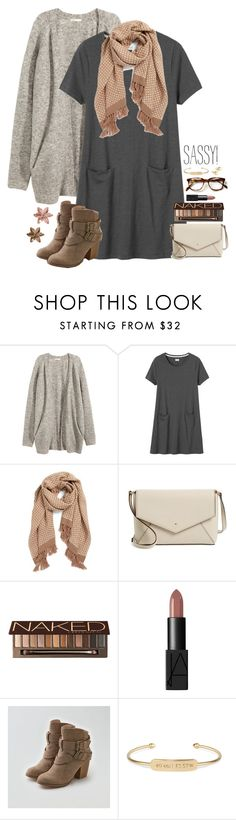 """""""{ sassy! }"""" by callingmybluff ❤ liked on Polyvore featuring H&M, Toast, Halogen, Kate Spade, Urban Decay, NARS Cosmetics, American Eagle Outfitters, Stella & Dot and Yoko London"""