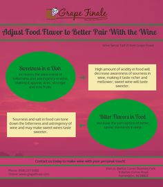 WINE LOVERS--it's Wine Sense Wednesday! Each WSW, we'll be sharing wine tips, information, and fun. Be sure to follow our board--Grape Finale Hands-On Winery--to receive all our WSW updates and share these tips with the wine lovers in your life! #WineSenseWednesday #GrapeFinale #wine #winemaking