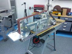New Machine Costruire KMG smerigliatrice a nastro clone (foto)