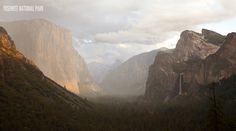 Yosemite an amazing vision by Carl Zock
