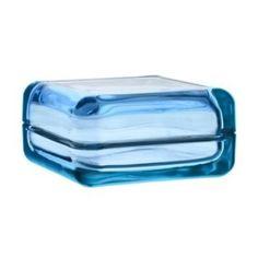 Vitriini Glasvitrine hellblau, 10, 8 x 10, 8 cm, h 5, 5 cm: Amazon.de: Küche & Haushalt