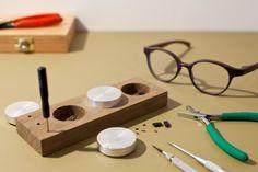 handmade wooden eyewear Shops, Handmade Wooden, Eyewear, Triangle, Tents, Eyeglasses, Retail, Sunglasses, Eye Glasses