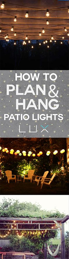 DIY your Christmas gifts this year with GLAMULET. they are 100% compatible with Pandora bracelets. The easiest DIY way to hang patio lights.