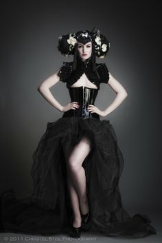 gothic boudoir photography - Google Search