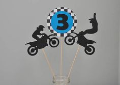 Your place to buy and sell all things handmade Motocross Birthday Party, Bike Birthday Parties, Dirt Bike Birthday, Birthday Party Invitations, Birthday Party Decorations, 3rd Birthday, Dirt Bike Party, Dirt Bikes For Kids, Race Party