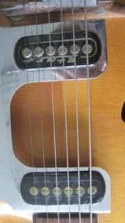 Roger Gitarre Archtop Jazzgitarre Mittenwald in Bayern - Memmingen   Musikinstrumente und Zubehör gebraucht kaufen   eBay Kleinanzeigen