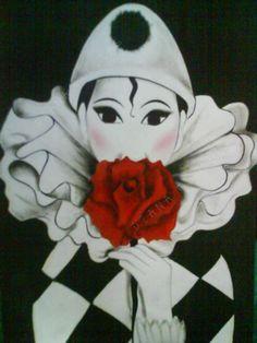 Pierrot by Dianafc18.deviantart.com on @DeviantArt