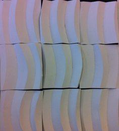 Bovenaanzicht structuur opdracht ronde vormen
