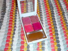 My DIY lipstick palette
