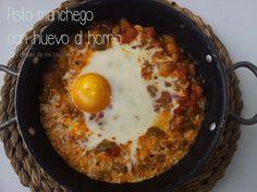 Las cosas de mi cocina: Pisto manchego con huevo al horno