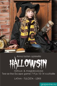 Escape game: Hallows skole for hekseri & magi år Escape Room, Halloween 2019, Halloween Costumes, Art Activities For Kids, Baby Must Haves, Cute Quotes, Hats For Men, Escape Games, Witchcraft