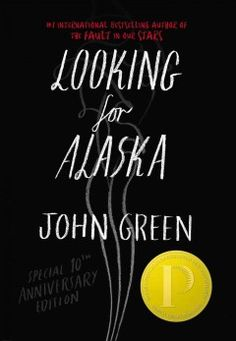 Looking for Alaska by John Green - Sixteen-year-old Miles' first year at Culver Creek Preparatory School in Alabama includes good friends and great pranks, but is defined by the search for answers about life and death after a fatal car crash.