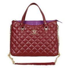 a53353910506 Wholesale Réplique Chanel 2014 Date Top Handle Bag A62244 Bourgogne -  €242.45   réplique sac a main, sac a main pas cher, sac de marque   sac  chanel