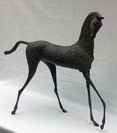 Bryn horse sculpture by Alexandra Shorey