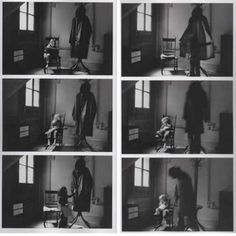 The Boogeyman by Duane Michals, Photography Storytelling, Narrative Photography, Photography Series, Conceptual Photography, Dark Photography, Photography Projects, Artistic Photography, Mia Farrow, Robert Redford