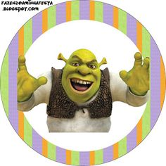 Imprimibles de Shrek 2.