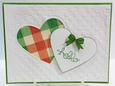 IC369 Hello Heart by jandjccc - Cards and Paper Crafts at Splitcoaststampers