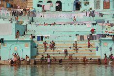 in gange river,Vanarasi, India