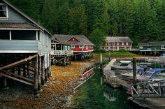 Telegraph Cove Resort        Vancouver Island
