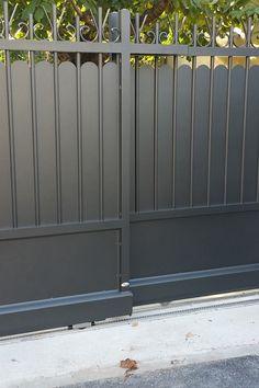 Fence Gate Design, Steel Gate Design, Front Gate Design, Main Gate Design, House Gate Design, Door Design, Sliding Fence Gate, Front Gates, Entrance Gates