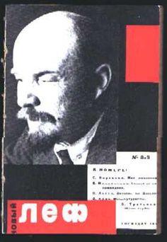 Novyi Lef (The Left Front of the Arts) - Alexandr Rodchenko, 1927