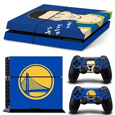 a1c987ee449 GoldenDeal PS4 Console and DualShock 4 Controller Skin Set - Basketball NBA  - PlayStation 4 Vinyl. DecalStickerBoys ...