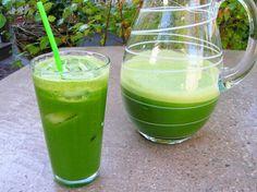 Suco verde.