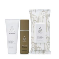 QVCUK TSV Offer 11/01/17... 229814 - Alpha-H 3 Piece Head To Toe Skin Resurfacing Collection - QVC PRICE: £50.00 TSV Price: £29.98 + P&P: £4.95 This three-piece skin and bodycare collection from Alpha-H features the brand new Liquid Gold Luxe Resurfacing Body Cloths that utilise the renowned Liquid Gold skin-revitalising technology to buff away dead skin cells and smooth the feel of your skin, plus a supersize Liquid Gold and a luxurious Balancing Cleanser.