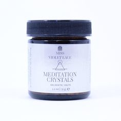 Meditation Crystals and Aromatic Salts