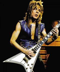 Randy Rhoads and his famous Jackson Concorde, which would become his signature model after his death. Description from pinterest.com. I searched for this on bing.com/images