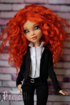 ♥♥♥ Prescilla | OOAK | ООАК Monster High ♥♥♥
