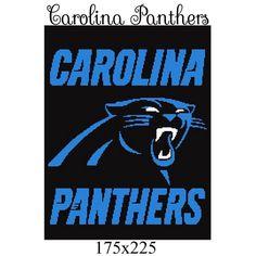 Name   Crocheting   Carolina Panthers blanket crochet graph 9683a5b89