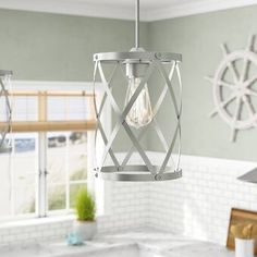 House of Hampton Mcewen 1-Light Crystal Pendant & Reviews | Wayfair 3 Light Chandelier, Pendant Lighting, Farmhouse Kitchen Lighting, Pool Table Lighting, Mini Pendant, Star Pendant, Crystal Pendant, Lantern Pendant, Globe Lights
