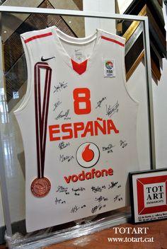 Cuadro para camiseta Basket en Barcelona www.totarta.cat