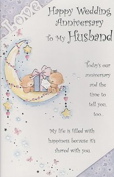 Happy anniversary cards for husband cute cards pinterest happy anniversary cards husband happy wedding anniversary to my husband m4hsunfo