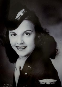 """Carmelita Pope in her USO days. Pope played Stella opposite Marlon Brando in Elia Kazan's Broadway production of """"A Streetcar Named Desire,"""" appeared in the television soap opera, """"Hawkins Falls, Population 6200,"""" and in the television panel game show, """"Down You Go""""."""