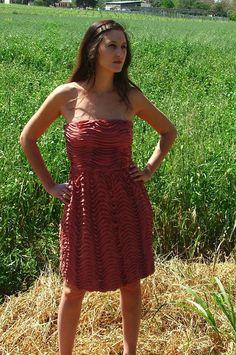Free Shipping.Sale.Pink Dress.Prom Dress.Women's by shpirulina