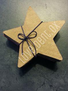 3 Inch Star Die Cut Table Scatter Scrapbook Garland by loveDENTox, $2.00