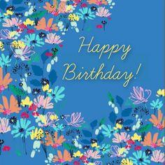 Happy Birthday Art, Happy Birthday Quotes For Friends, Happy Birthday Wishes Cards, Cool Birthday Cards, Birthday Sentiments, Happy Birthday Images, Birthday Posters, Birthday Memes, Birthday Prayer