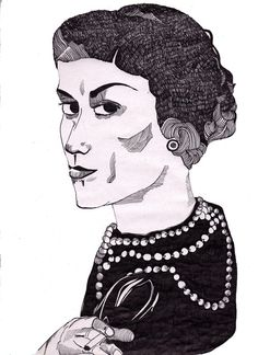 Lucy Brooks - A young Coco Chanel.