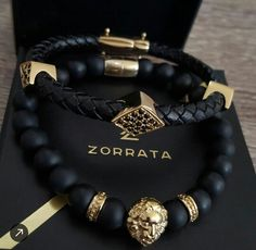 The Zorrata gold and black essentials. Available exclusively. Bracelets For Men, Fashion Bracelets, Jewelry Bracelets, Jewelery, Fashion Jewelry, Men's Jewelry, Fine Jewelry, Copper Jewelry, Handmade Jewelry