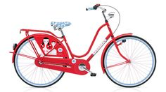 Oh how I want this Alexander Girard bicycle:)