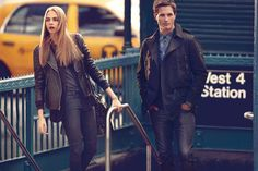 Cara Delevingne Explores the City for DKNY Fall 2013 Campaign