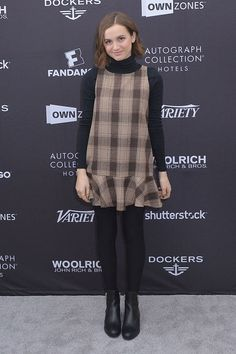maude-apatow-style-sundance-layered-top-and-dress