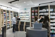 Cure and Care / Pharmacy Shop / Athens / Pharmacy Design / Retail Design / Store Design / Pharmacy Shelving / Pharmacy Furniture / Gallery of Pharmacy / Superdrug Store / Pharmacy Interior Design / Pharmacists