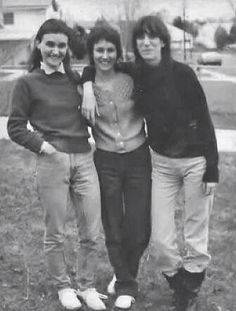 Kimberly Linda and Patti Smith.