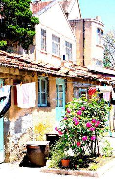 Old Houses, Qingdao, China